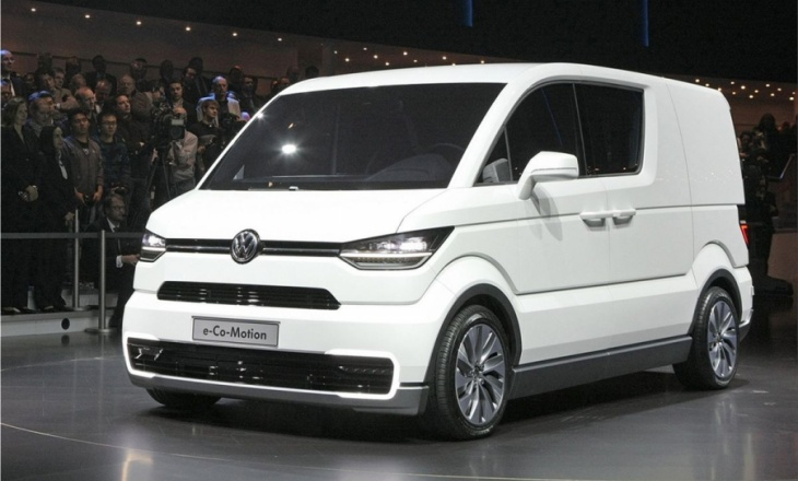 Volkswagen e-Co-Motion city delivery concept van