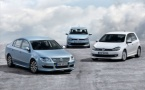 The new Polo, Golf and Passat BlueMotion
